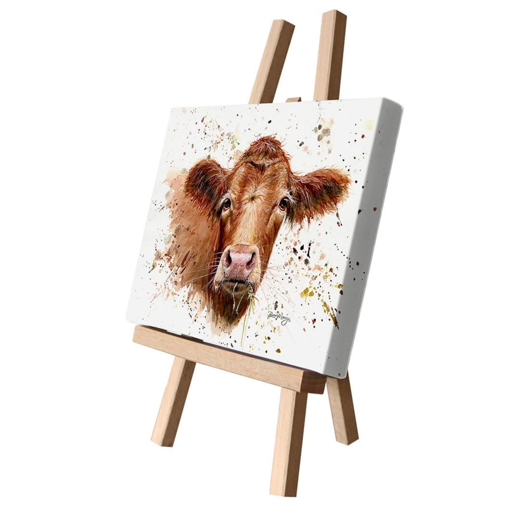 Bree Merryn Gertrude Canvas Cutie 15 x 20 - Cow