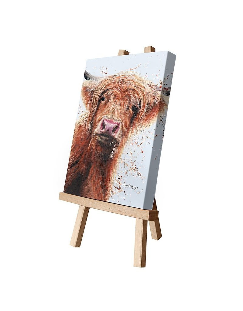 Bree Merryn Betsy with Splats Canvas Cutie 15 x 20 - Cow