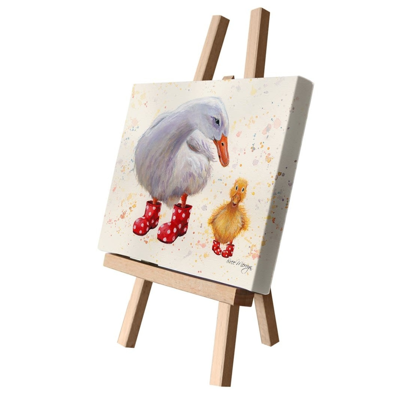 Bree Merryn Darcey and Daffodil Canvas Cutie 15 x 20 - Ducks