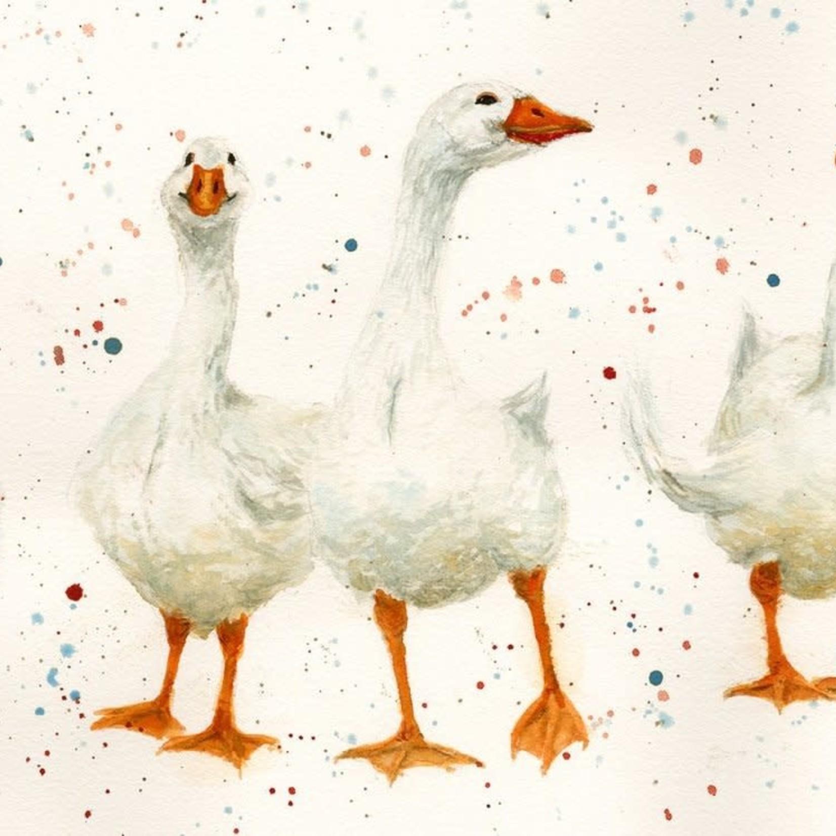 Bree Merryn Goose Women Canvas Cutie 15 x 20 - Geese
