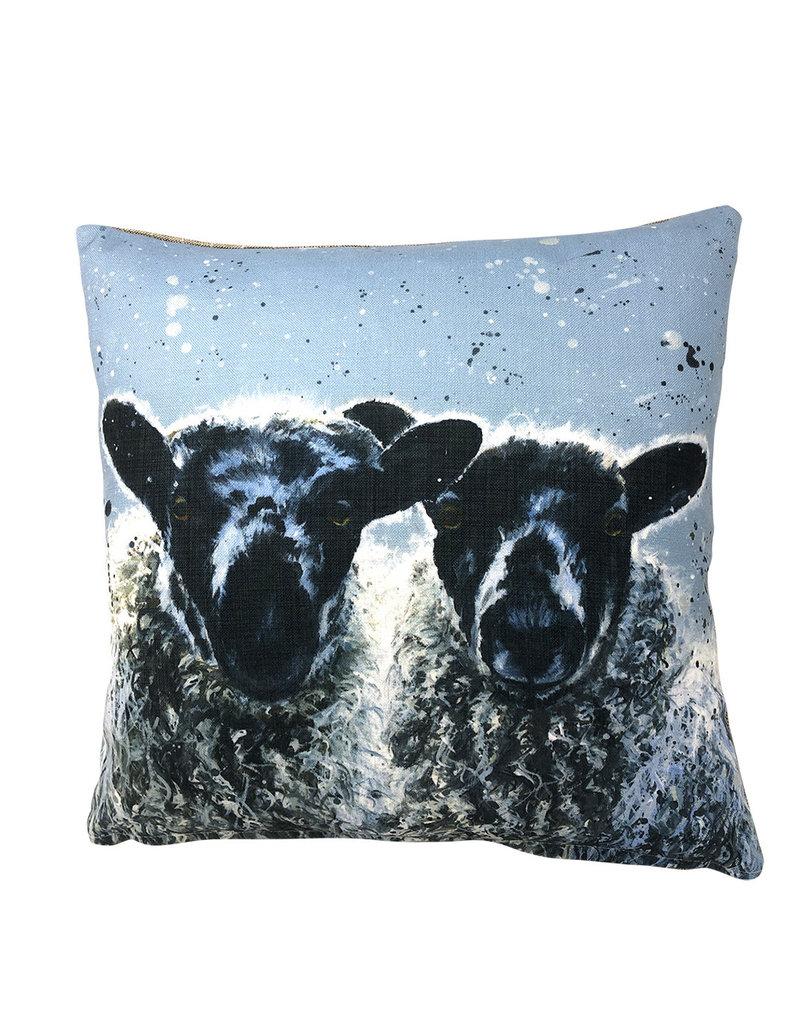 Bree Merryn Barbara and Ann Cushion Feather 43cm - Sheep