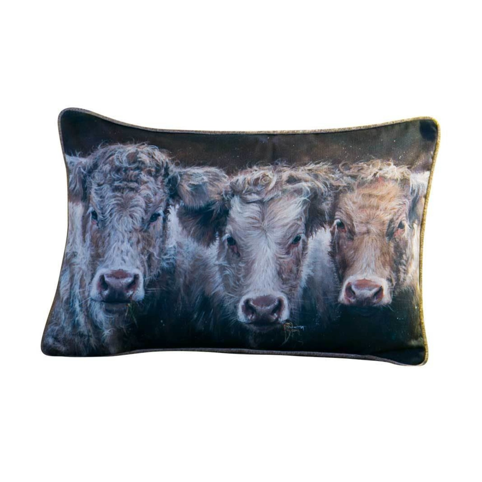 Bree Merryn COW DO YOU DO OBLONG FEATHERED CUSION 40x60CM