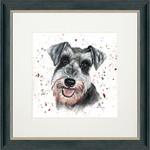 Bree Merryn Snoopy Charcoal Frame 48cm - Schnauzer