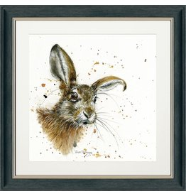 Bree Merryn Hamilton Charcoal Frame 48cm - Hare