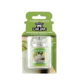 Yankee Candle Yankee Car Jar Ultimate Vanilla Lime