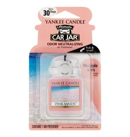 Yankee Candle Yankee Car Jar Ultimate Pink Sands