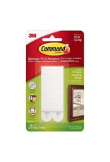 3M Command COMMAND 17206 LARGE PICTURE HANGING STRIPS 4X2 PACK WHITE 7.2 KG