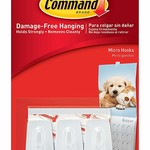 3M Command COMMAND MEDIUM PICTURE HANGING STRIPS WHITE 3 PACK