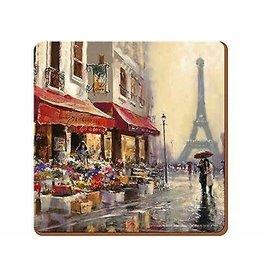 Creative Tops CREATIVE TOPS PARIS SCENE PACK OF 6 PREMIUMIUM COASTERS