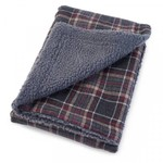 Zoon Zoon Plaid Comforter - 70 x 100cm