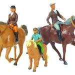 Britains BRITAINS FARMYARD HORSE AND RIDER SET