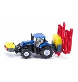 Siku SIKU NEW HOLLAND WITH CROP SPRAYER 1:87