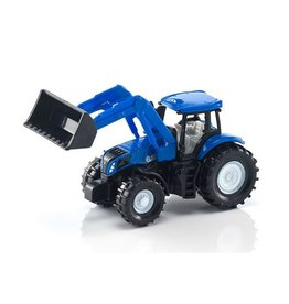 Siku SIKU SMALL SMALL NEW HOLLAND WITH FRONTLOADER