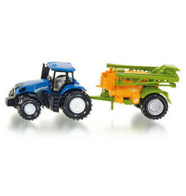 Siku SIKU SMALL NEW HOLLLAND TRACTOR WITH CROP SPRAYER