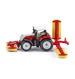 Siku SIKU 1:87 STEYR W/POTTINGER MOWER COMBINATION