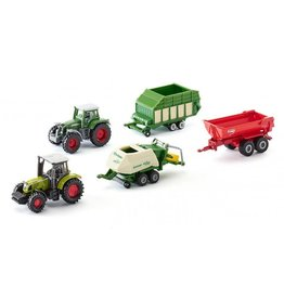 Siku SIKU 5 X AGRICULTURAL VEHICLES GIFT SET