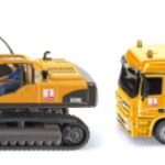 Siku Siku Max Bogl Cement Mixer And Volvo EC290C Excavator