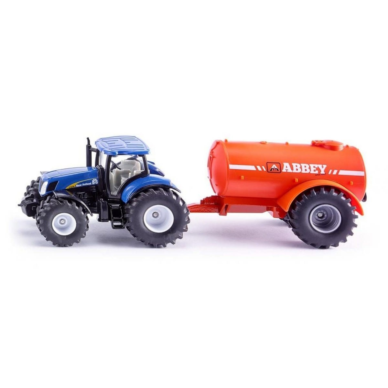 Siku 1:50 NEW HOLLAND W/SINGLE AXLE ABBEY TANKER