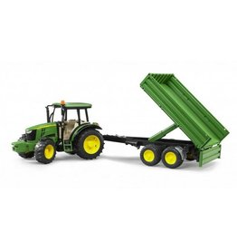 Bruder BRUDER JOHN DEERE 5115M WITH TIPPING TRAILER