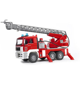 Bruder Bruder Man Fire Engine With Sounds & Lights
