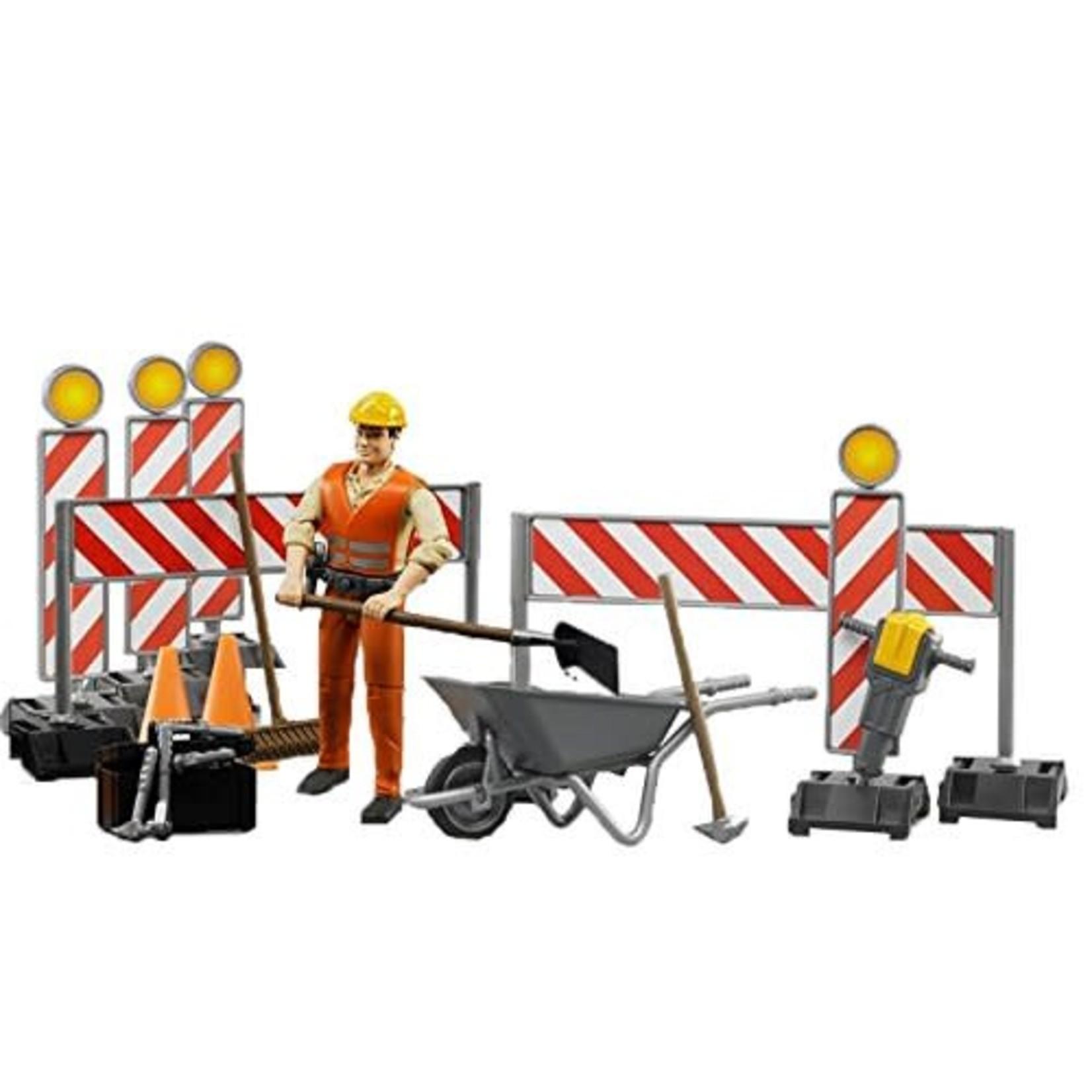 Bruder Bruder Construction Figure Set 62000