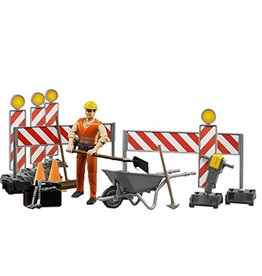 Bruder Bruder Construction Figure Set 62000