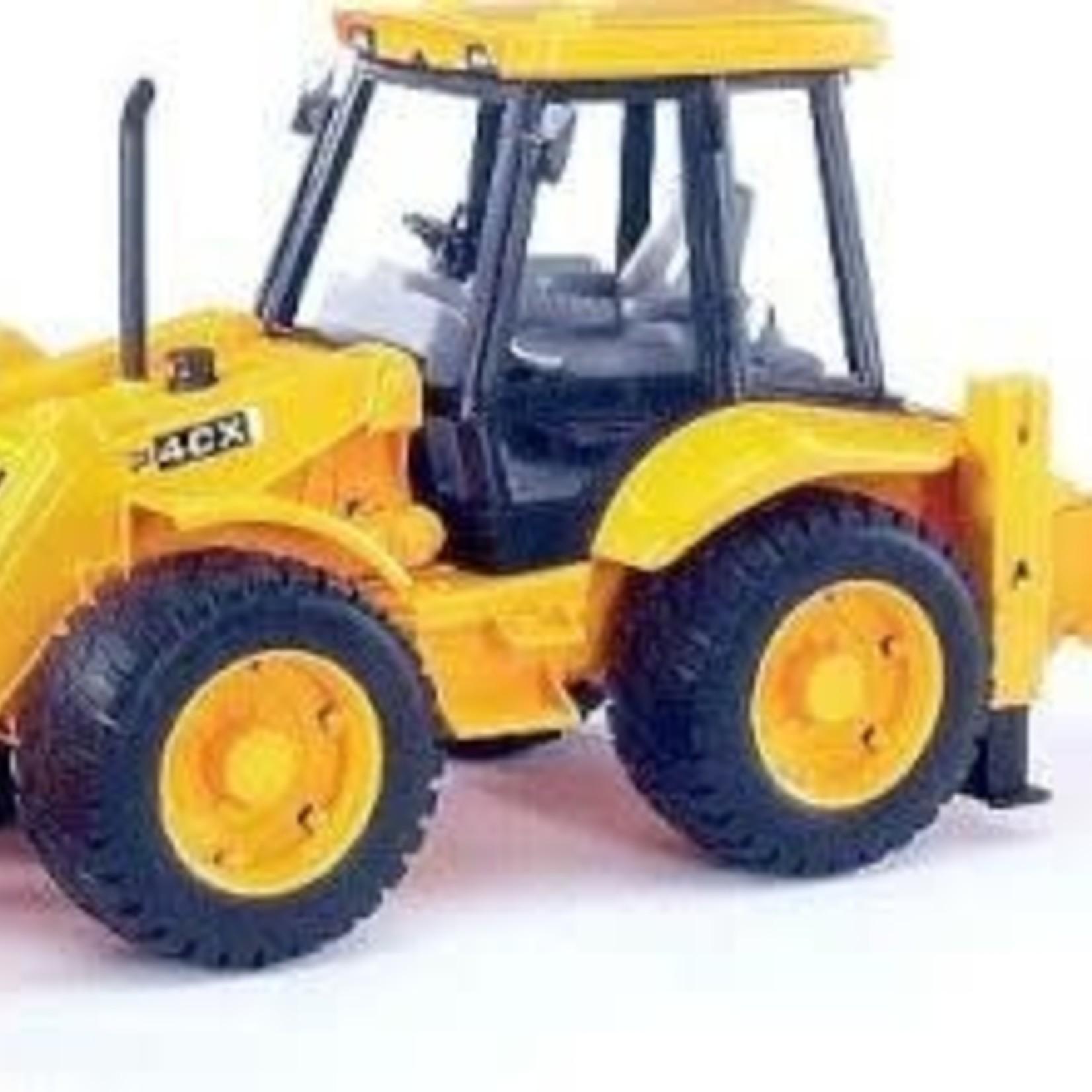 Bruder BRUDER JCB 4CX Tractor With Frontloader & Digger