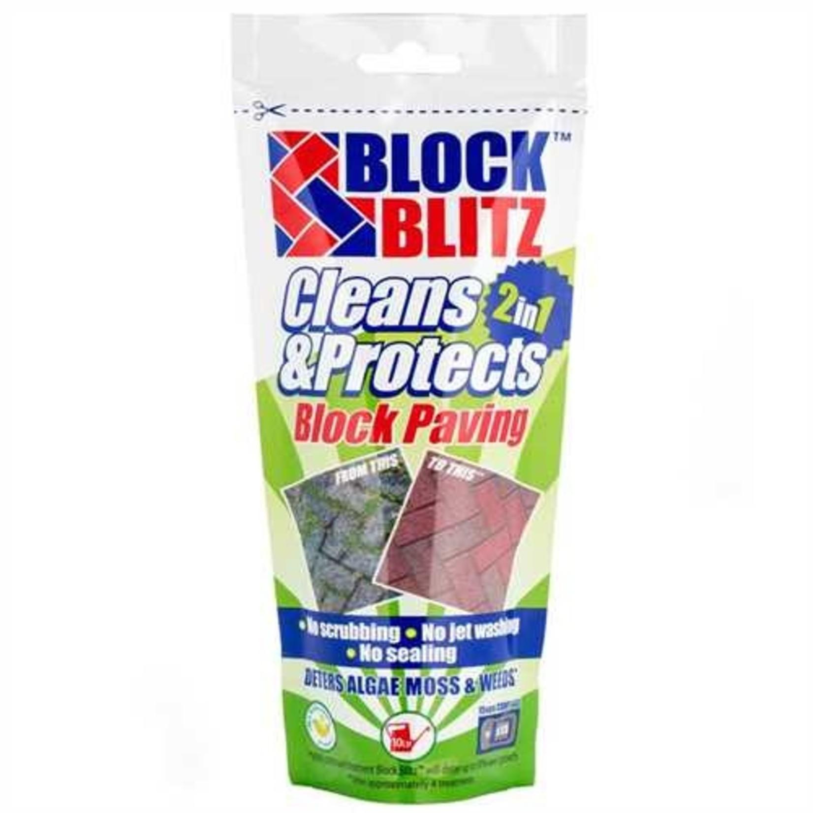 BLOCK BLITZ 2 IN 1 BLOCK PAVING CLEANER 760G