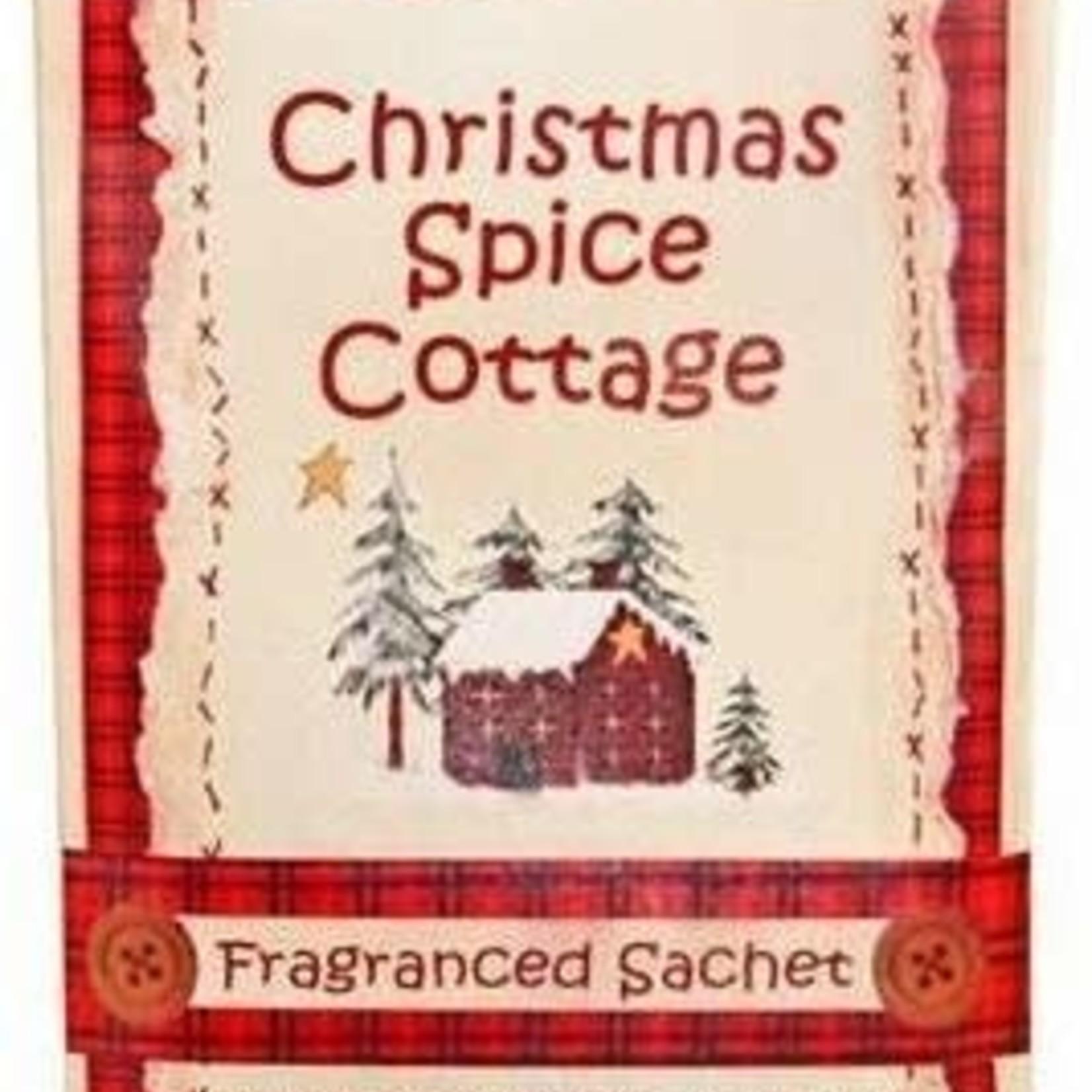 CHRISTMAS SPICE FRAGRANCED SACHET
