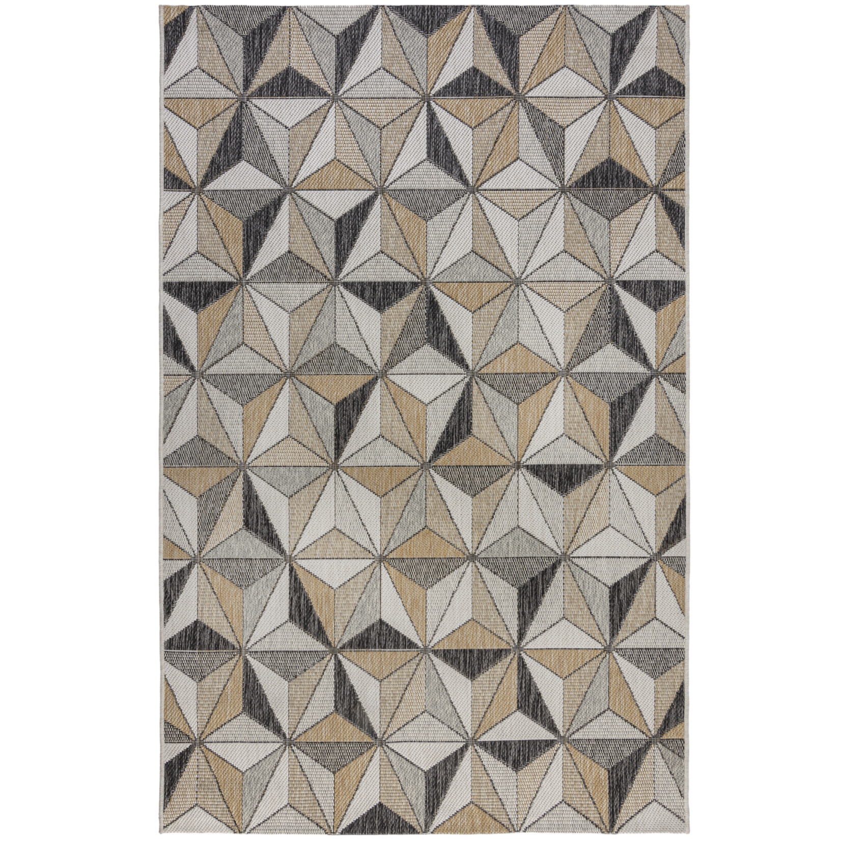 Dimensions Outdoor Charm Grey/Natural 120x170