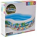 Intex Swim Centre Family Paddling Pool 2.62m x 1.6m