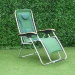 Zero Gravity Reclining Relaxer Green