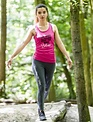 WARRIOR WOMEN Tanktop: The body achieves (roze)