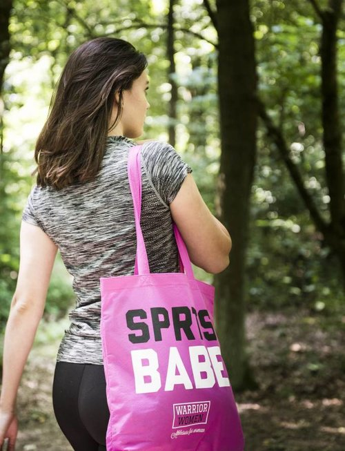 WARRIOR WOMEN Draagtas SPRTS BABE (roze)