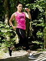 WARRIOR WOMEN Tanktop: Running makes my day (roze)