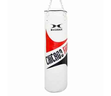 Hammer Boxing Hammer Bokszak Chicago Fight white 120 x 30 cm