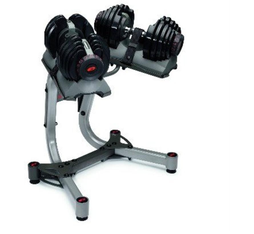 Bowflex™ SelectTech™ 552i - Verstelbare dumbbells - 24 kg - Paar