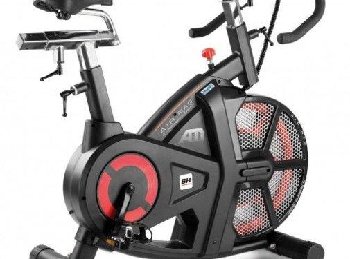 BH Fitness BH I.AIR MAG (semi-prof inzetbaar) HIIT indoor cycle met Bluetooth 4.0