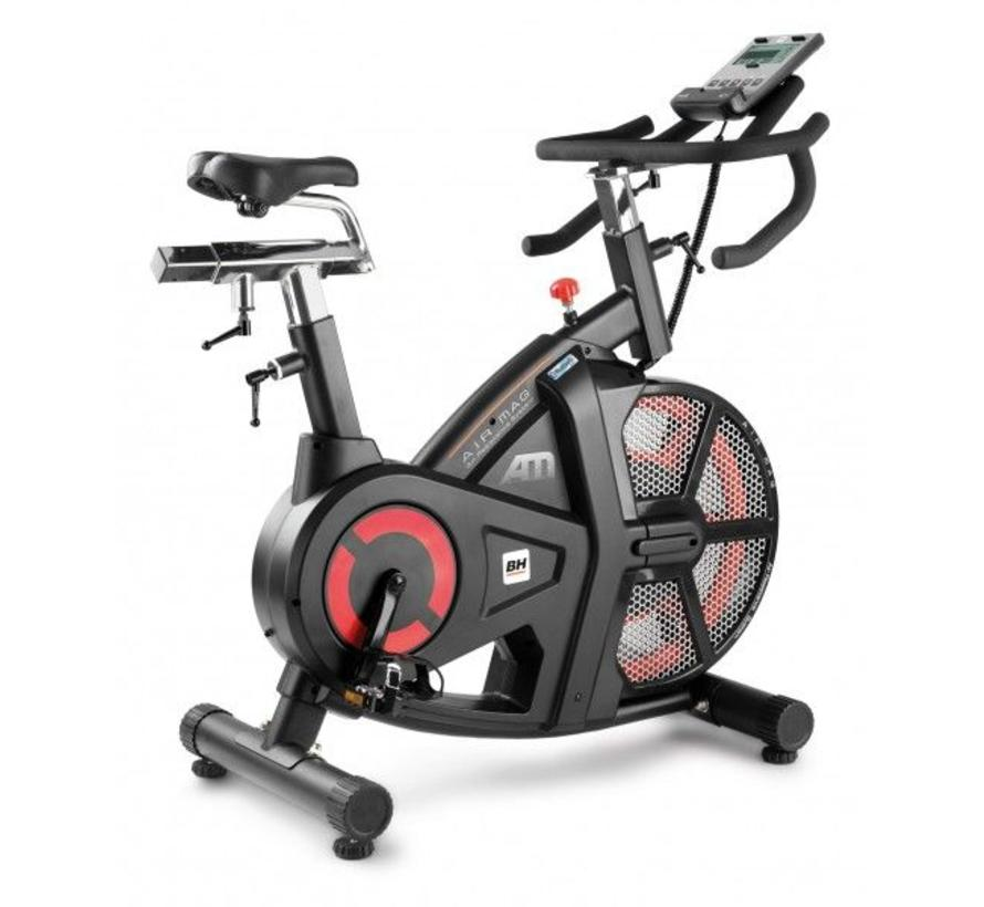 BH I.AIR MAG (semi-prof inzetbaar) HIIT indoor cycle met Bluetooth 4.0