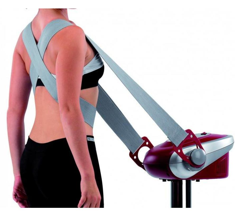 BH TACTILE TONIC trilplaat met 3 massagebanden
