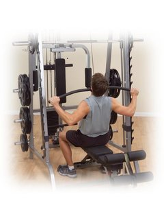 Body-Solid Lat Attachment voor GS348 Series 7 Smith Machine GLA348