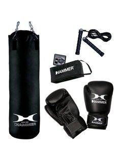 Hammer Boxing Set Chicago, 100 cm (Fit black 100 cm)