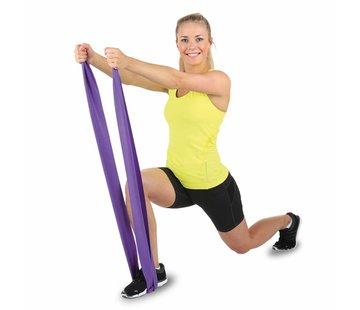 Hammer Fitness Hammer Fitnessband Elastiek - Paars - Weerstand: Medium