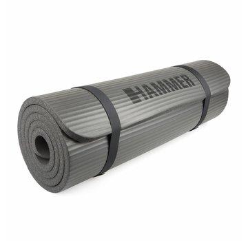 Hammer Fitness Hammer Fitness - Fitnessmat - 182 x 60 x 1,5cm - Grijs