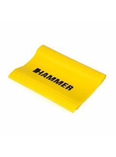 Hammer Fitness Fitnessband Elastiek - Geel - Weerstand: Licht