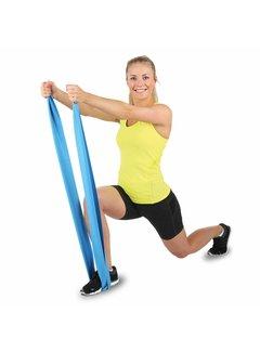 Hammer Fitness Hammer Fitnessband Elastiek - Blauw - Weerstand: Zwaar
