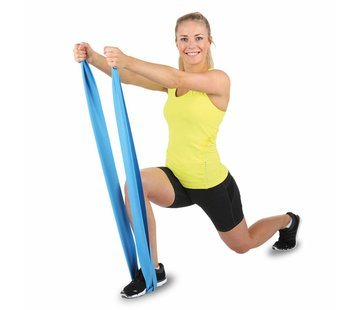 Hammer Fitness Fitnessband Elastiek - Blauw - Weerstand: Zwaar