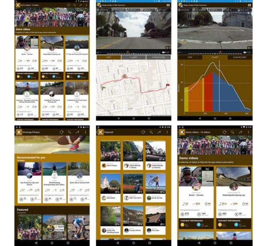 Toorx SRX-300 Indoor Cycle met Kinomap en programma's