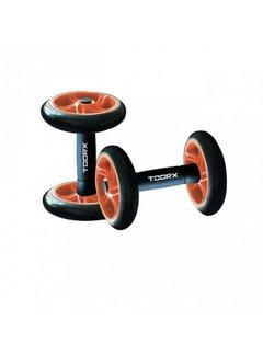 Toorx Fitness Core Wheels - Buikspierwielen - Set