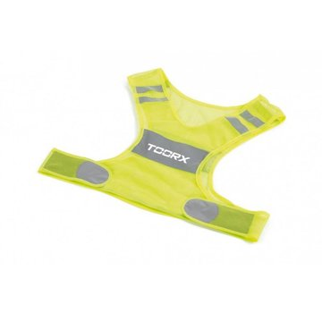 Toorx Fitness Toorx Veiligheidsvest / Hardloopvest - Reflecterend - Unisex - One Size Fits All